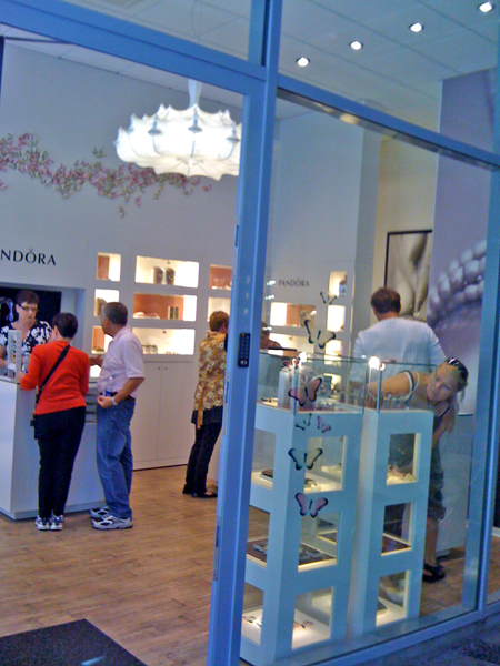 Pandora Jewellery Store Copenhagen