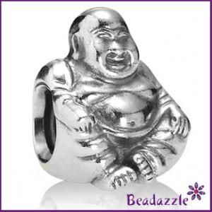 pandora-silver-buddah-bead